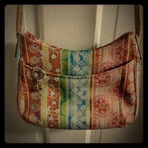 🔥 Genuine Leather Fossil Crossbody Bag 🔥